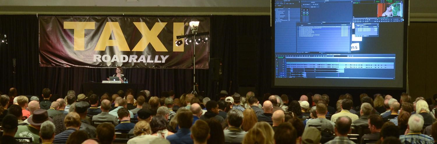 Video editor Laurel Ostrander was a huge hit as she showed a packed ballroom how she selects, edits, and lays music into an episode of a reality TV show. People who attended this presentation said it was 'life-changing!'