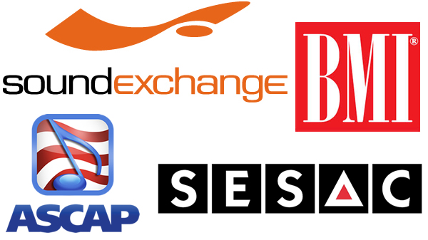 What's the Difference Between ASCAP, BMI, SESAC, and SoundExchange?