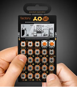 Teenage Engineering Pocket Operator Synthesizer