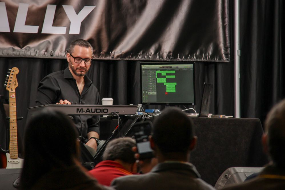 Doug Fenske (Director of Education, Crē•8 Music Academy) did a powerful session called, Transitioning to Contemporary to help musicians who feel they might be musically stuck in a past decade learn how to sound more current.