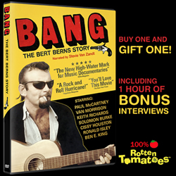 BANG! The Bert Berns Story is on DVD!