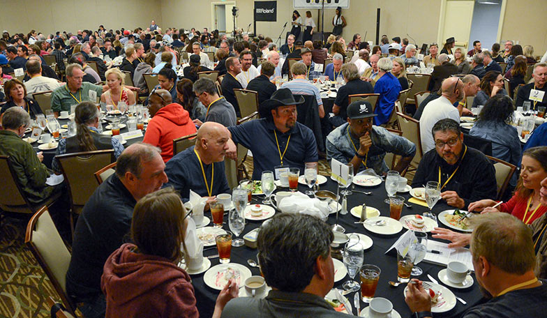 This shot shows what 330 people look like as they meet each other in one of the Road Rally's Industry Eat & Greet Luncheons.