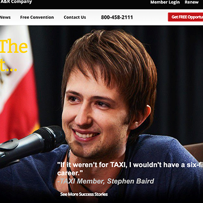 Want to See Your Face on TAXI's Homepage?