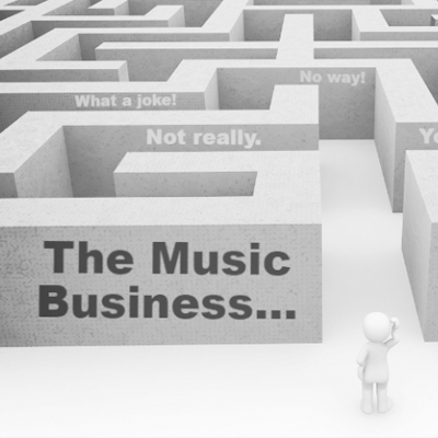 How does the music industry work? Give me the high-level overview!