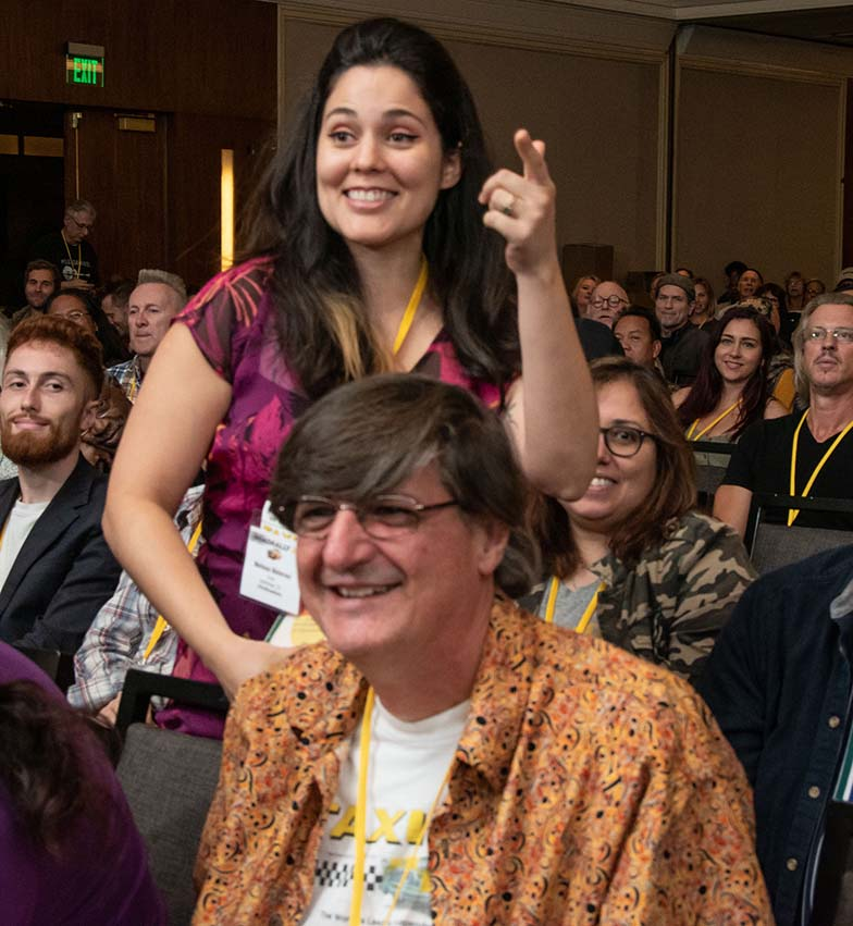 "TAXI Member Meli Malavasi was clearly excited when she exclaimed, ""That's my song!"" when all the panelists loved her song during a listening panel."