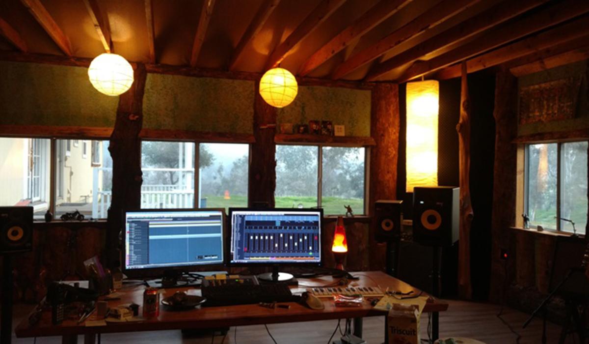 McEntee's work station