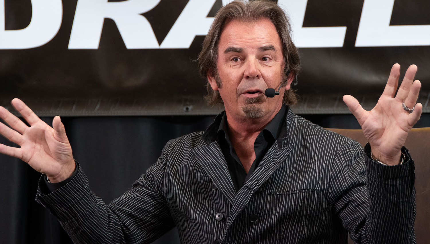 Jonathan Cain was incredibly inspirational with his heartfelt message about never giving up and believing in yourself.