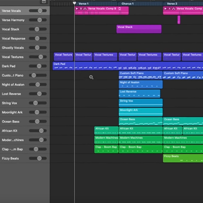 Billie Eilish's Ocean Eyes Session Dissected in Logic Pro X